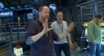 Joss getting things done on the set of the Helicarrier, by the looks.