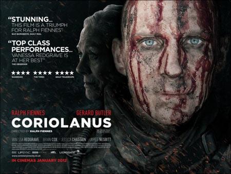 Coriolanus starring Ralph Fiennes