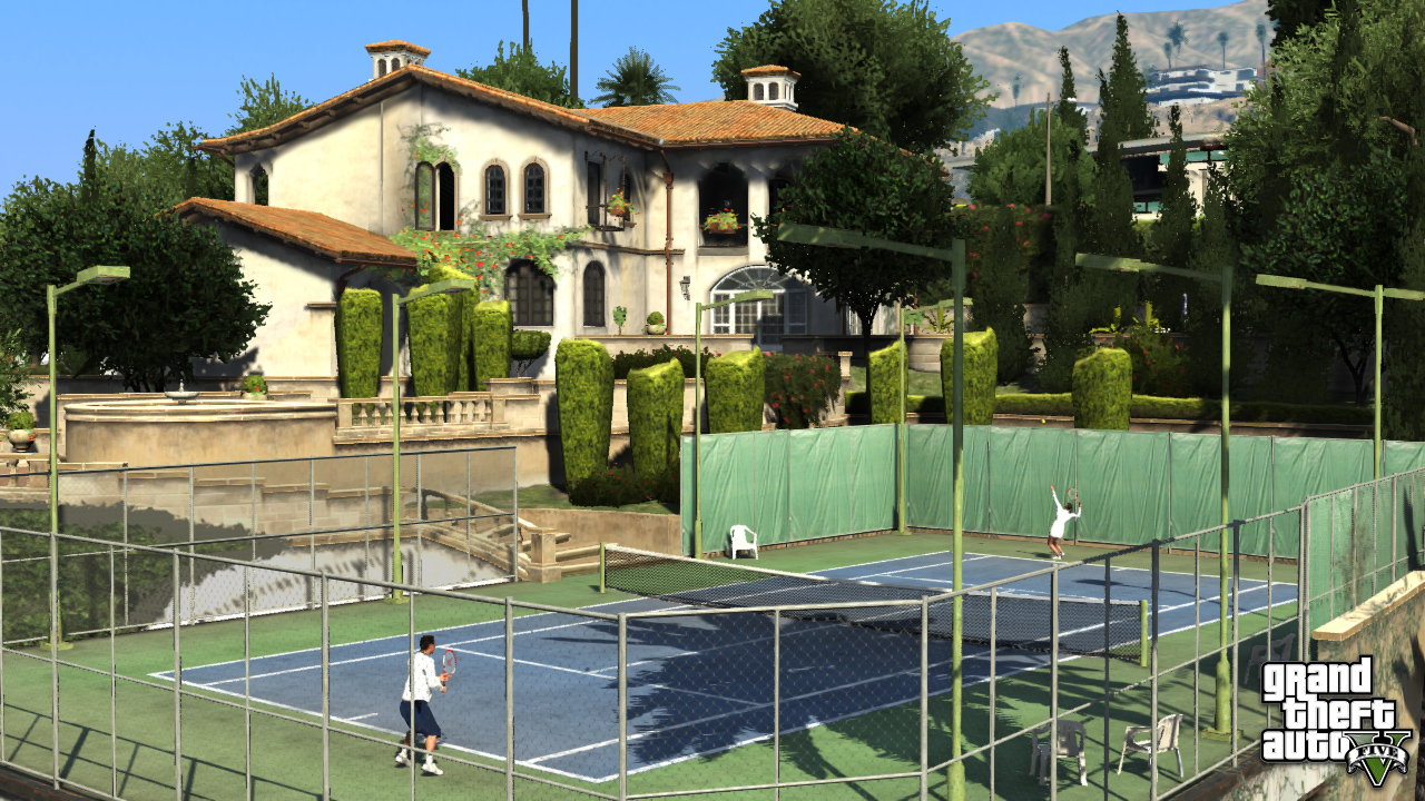 Games: New GTA V Pics Show Some Relaxing Leisure Activities   The